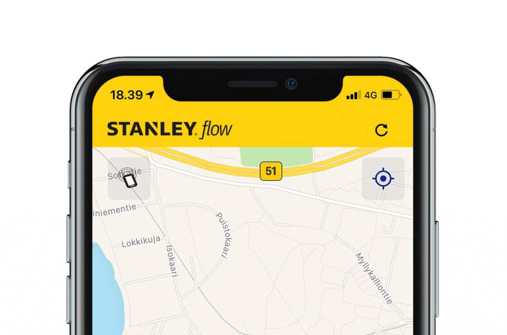 Stanley Flow mobile application